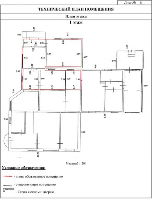 Кадастровые работы для встроенного нежилого помещения